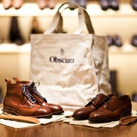Alden for Obscura Magazine - Alden for Obscura Special Edition Shoes and Boots