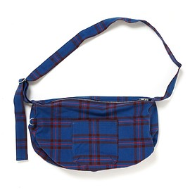 PEEL&LIFT - re-make shoulder bag/blue (elliot tartan)
