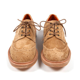 Comme des Garcons Junya Watanabe MAN - Suede Wingtip Brogues Fall/Winter 2011