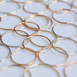 Melissa Joy Manning - Gold Stacking Ring
