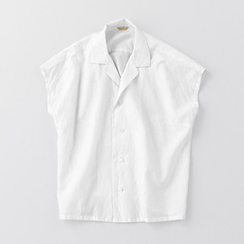 ARTS&SCIENCE - Open Collar French Sleeve Blouse