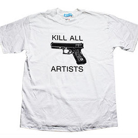 2k by Gingham - 'Kill All Artists' Tee By Tom Sachs & Dirk Westphal