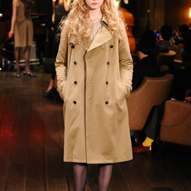 beautiful people - 2013FW TRENCH COAT
