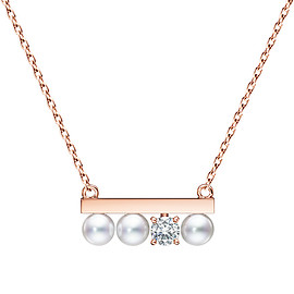 TASAKI - TASAKI GLOBAL / petit balance diamonds solo Necklace