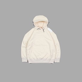 N.HOOLYWOOD - TEST PRODUCT EXCHANGE SERVICE  HOODED SWEAT SHIRT #IVORY [9211-CS03-023]