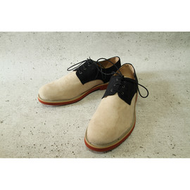 good guys - two tone classic derby(black/nude)