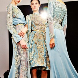 Elie Saab - Backstage  Haute Couture Winter 2012