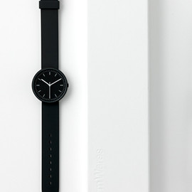 Uniform wares - 100 series wristwatch/black