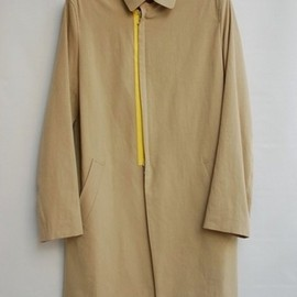 DIGAWEL - ACTION PLEATS ZIP COAT