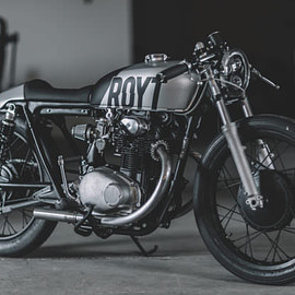 Honda - Nifty Two-Fifty: Hookie Co.'s Honda CB250 cafe racer