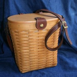 Longaberger - Large Saddlebrook Basket Purse