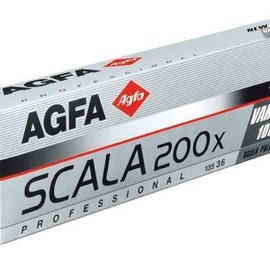 AGFA PHOTO - Scala 200X Black & White Transparency Film, ISO 200, 135mm Size, 36 Exposure