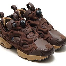 Reebok, atmos, Theatre PRODUCTS - Instapump Fury - Chocolate Brown/Light Brown?