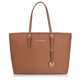 MICHAEL KORS - Jet Set Travel Tote for MacBook Pro - Tangerine -