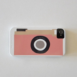 Luulla - Camera Pink Vintage Retro IPhone 4/4s case Modern redtilestudio