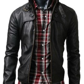Cant go wrong with a good leather jacket?
