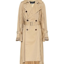 JUNYA WATANABE COMME des GARCONS - Cotton-blend trench coat