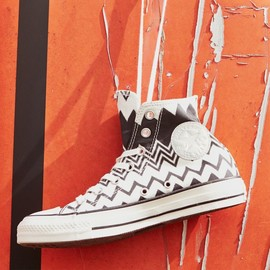 Converse x Missoni - Converse x Missoni Chuck Taylor All Star High Top Sneaker – Black / Egret