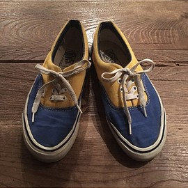 vans - 90's vans era blue/yellow