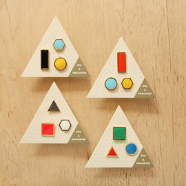 geometric rock necklaces