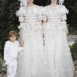 Chanel - Chanel couture spring/summer 2013