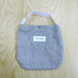 "CANVAS - ""Draw Tweed"" COSME BAG"