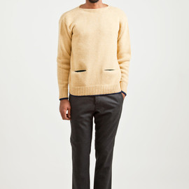 MARNI - Wool Knit Sweater Soya
