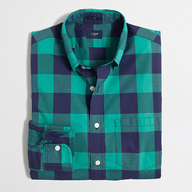 J.CREW - SLIM LIGHTWEIGHT SHIRT IN MULTI-PATTERN