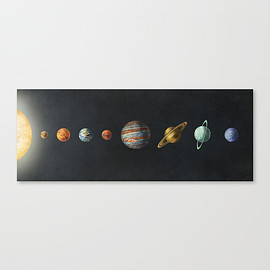 Society6 - 画像1: Solar System by Terry Fan
