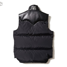 Featherbed Leather Down Vest