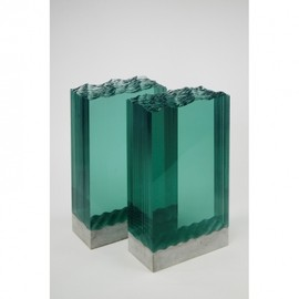 Ben Young - Rough Waters in laminated glass by Ben Young