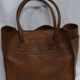 orvis - leather tote