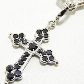 Loree Rodkin - medium gothic cross pendant/ペンダント