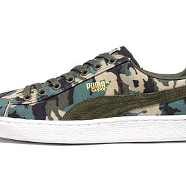 "Puma - BASKET CANVAS CAMO ""LIMITED EDITION"""