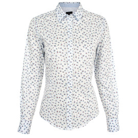 Paul Smith Women - Graphic Floral Print Classic Fit Shirt