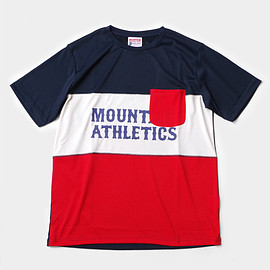 Mountain Martial Arts - MMA MA Panel Tee (Navy_Red)