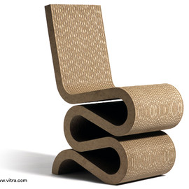 Vitra - Wiggle Side Chair