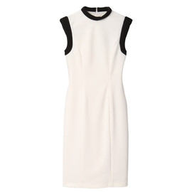 G.V.G.V. - ROLL NECK PONTE DRESS