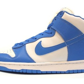 NIKE - DUNK HIGH LE white/carolina blue 630335-144