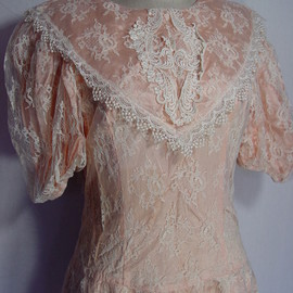 Antique - 70's Vintage Wedding Dress