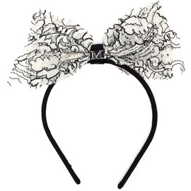 MAISON MICHEL - Lace Bow Headband