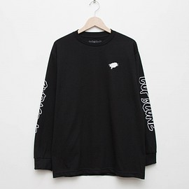 cup and cone - Long Sleeve Tee - Black