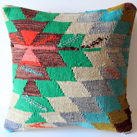 Organic Shine Society  - Kilim Pillow