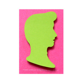 Ooh La La! - Gentleman Sticky Note
