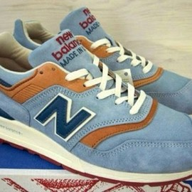 New Balance - M997 - Sky Blue/Navy/Brown?