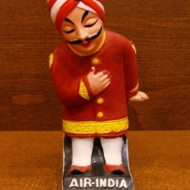 AIR-INDIA - AIR-INDIA 60's マハラジャくんフィギュア:M