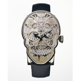 Fiona Krüger - 'Memento Mori' hand-made mechanical watch