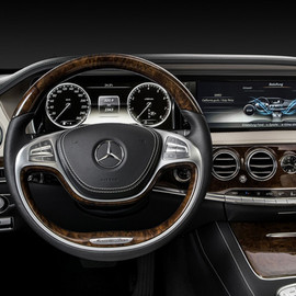 Mercedes-Benz - new S class interior
