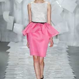 Jason Wu - white & pink