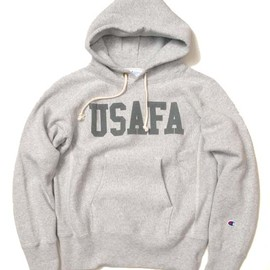 Champion - USAFA RW PULLOVER HOODED SWEATSHIRT